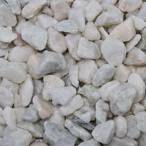 Wet White Marble
