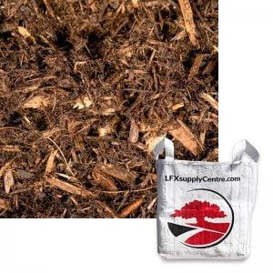 Natural Cedar Mulch SuperSac