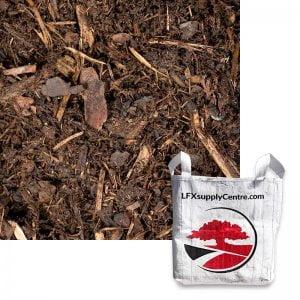canada red pine mulch SuperSac